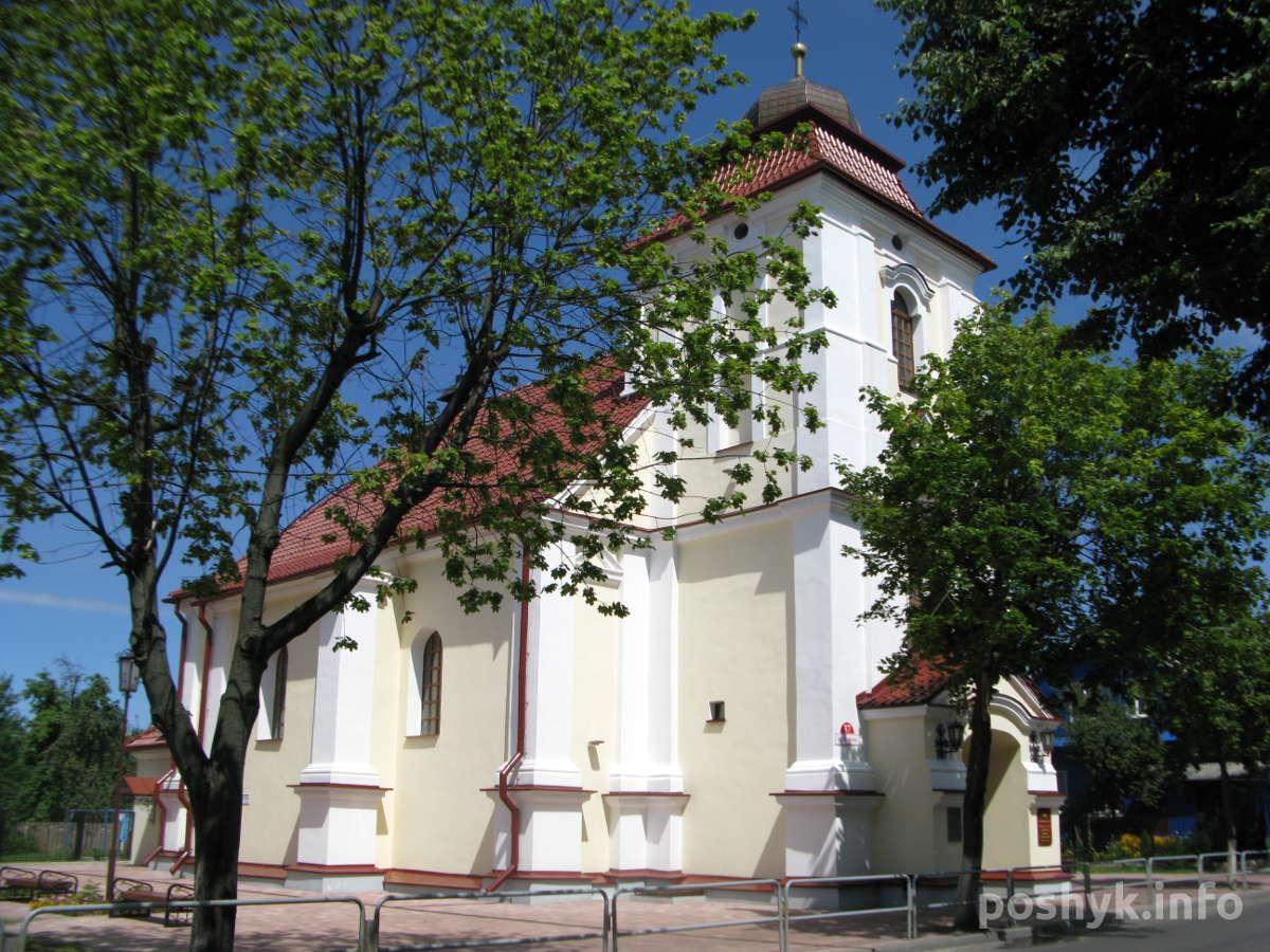 Костел Св. Карла Баромея в Пинске