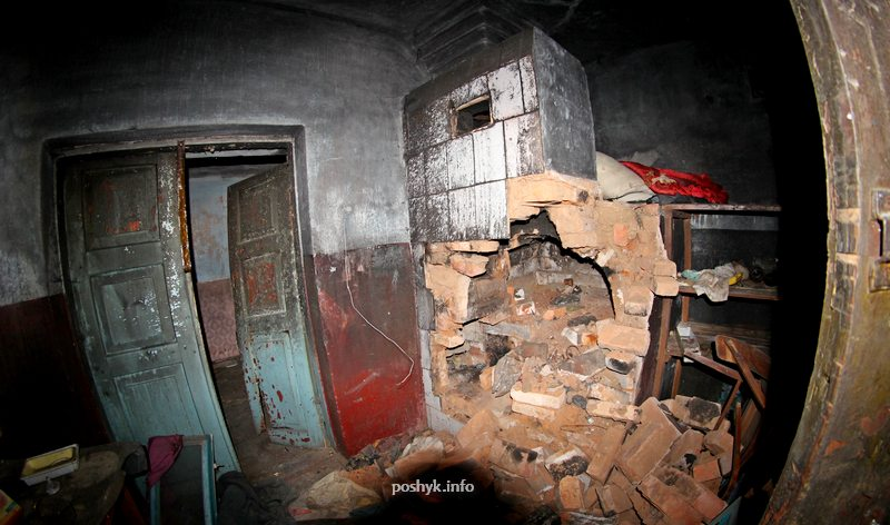 погребенка заброшенные здания