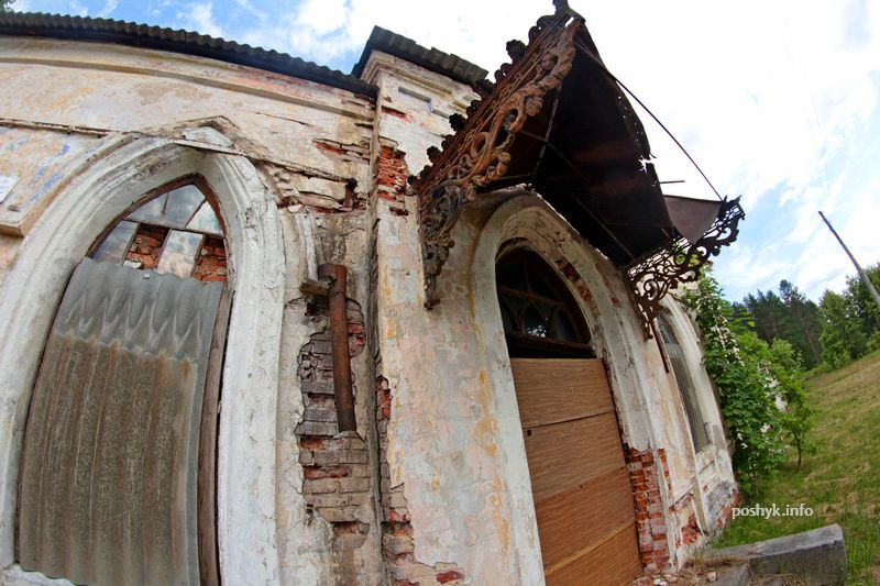 poshyk.info руины беларуси