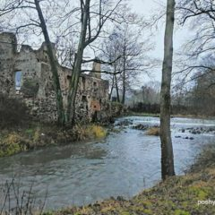 Лососна — руины водяной мельницы
