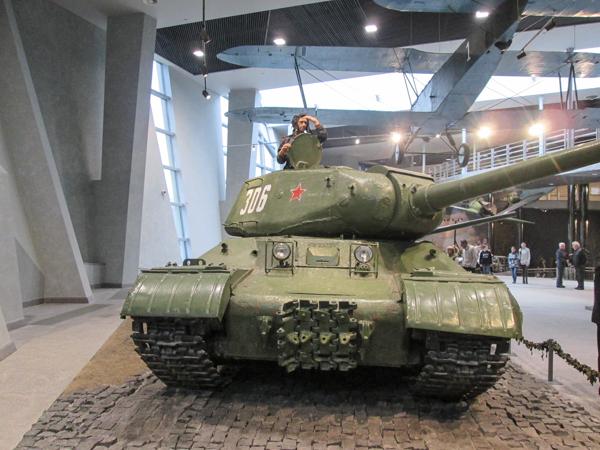танки в музее ВОВ