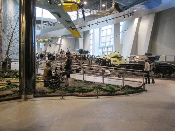экспозиция в музее Великой Отечественной войны в Минске
