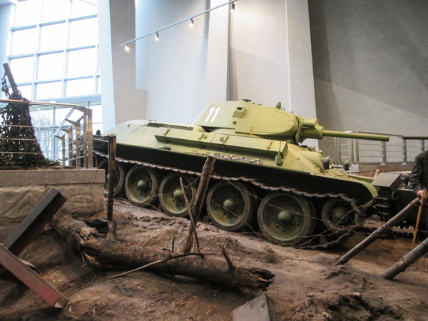 Танки в белорусском музее истории великой отечественной войны в Минске