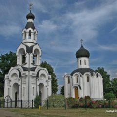 Храм Воздвижения Креста Господня д. Святая Воля.