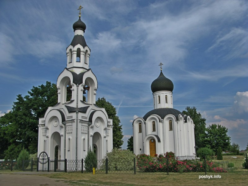 Храм Воздвижения Креста Господня Святая Воля.