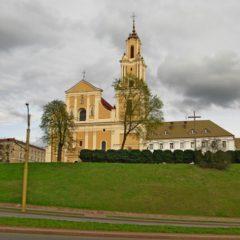 Костел обретения святого креста в Гродно
