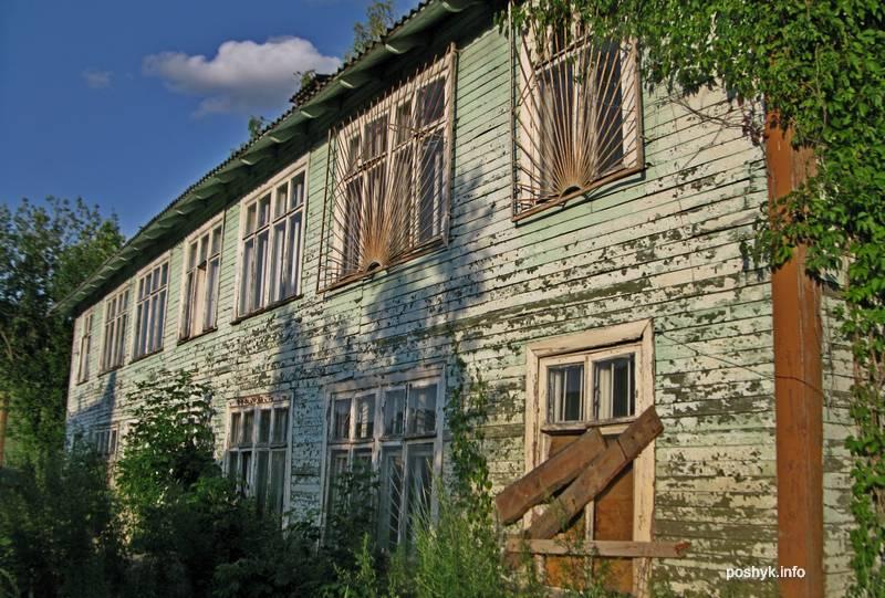 Заброшенные дома на улице Кузьмы Чорного