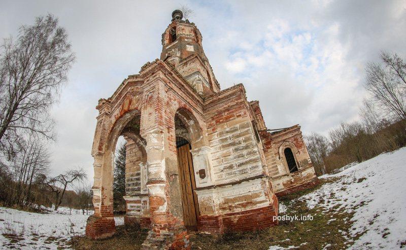 руины николаевской церкви