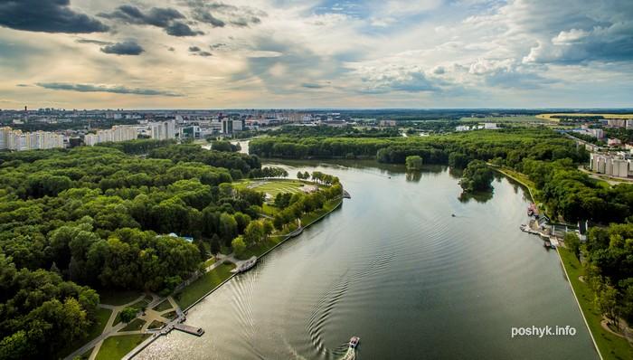 Все парки Минска