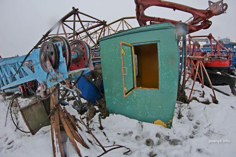 кладбище кранов минск