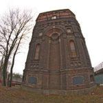 Водонапорная башня в Минске 1910 года