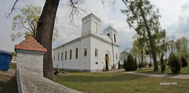 kostel v kobrine