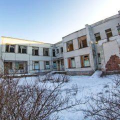 Заброшенный детский сад в Заводском районе.