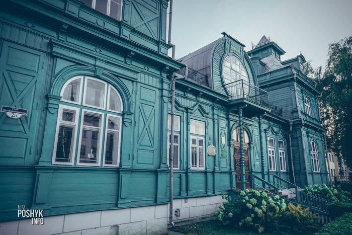 зеленый дом в бобруйске