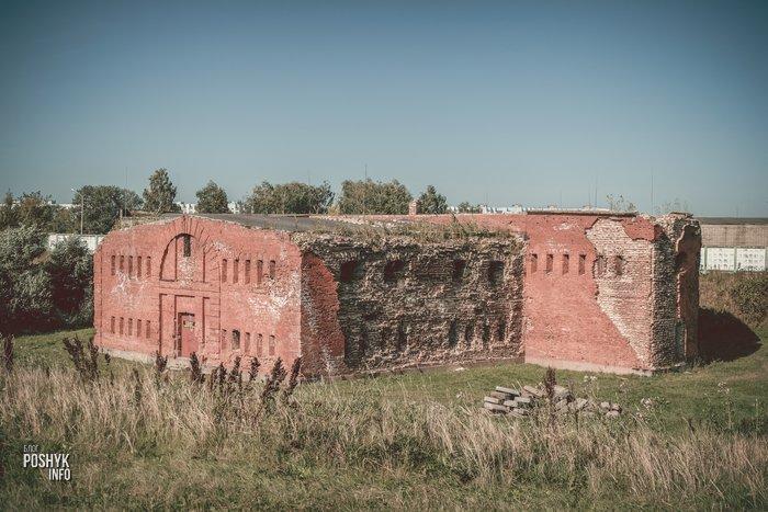 развалины бобруйской крепости