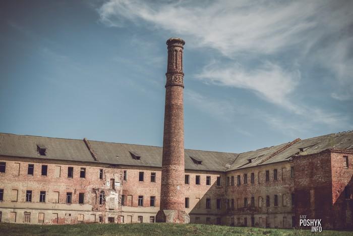 заброшенные казармы бобруйской крепости