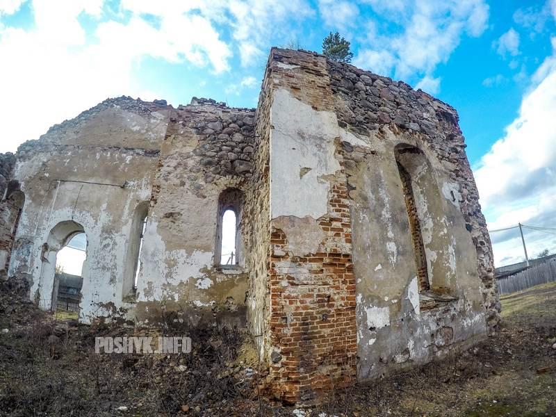 Бегомль руины церкви всех святых