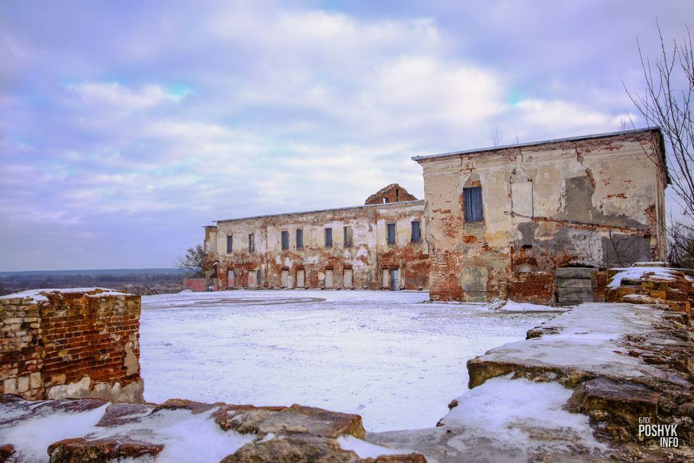 Быховский замок Ходкевичей и Сапег