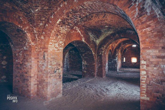 Крепость в Бобруйске внутри