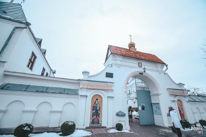 Брама монастыря в Могилеве