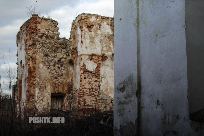 церковь всех святых руины
