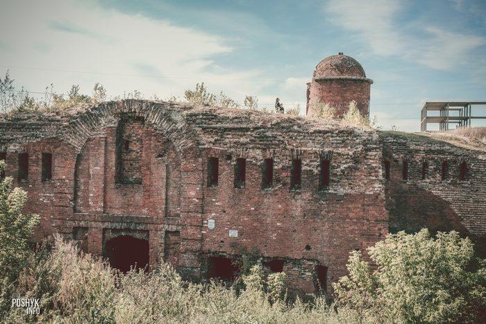 Крепость в Бобруйске капонир