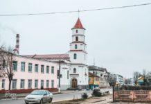 костел в Борисове