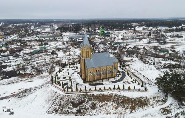 Костел Девы Марии в поселке Красное