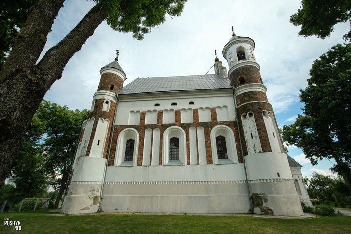 Красивые церкви Беларуси Мурованка