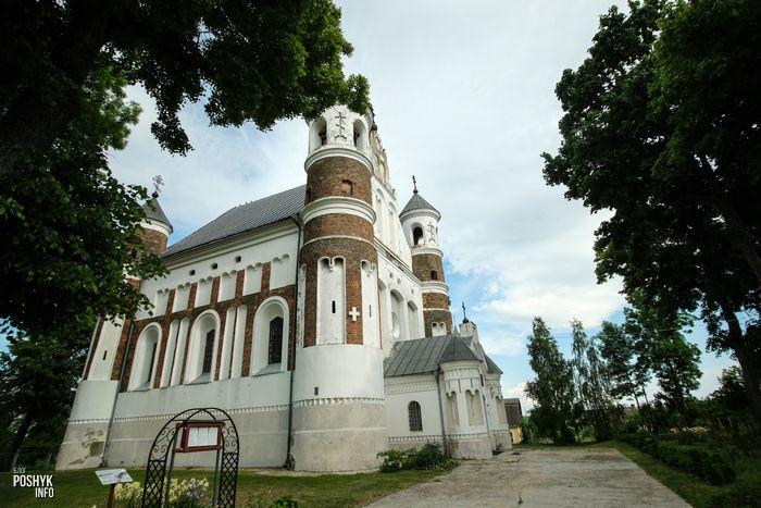 Оборонительные храмы Беларуси Мурованка