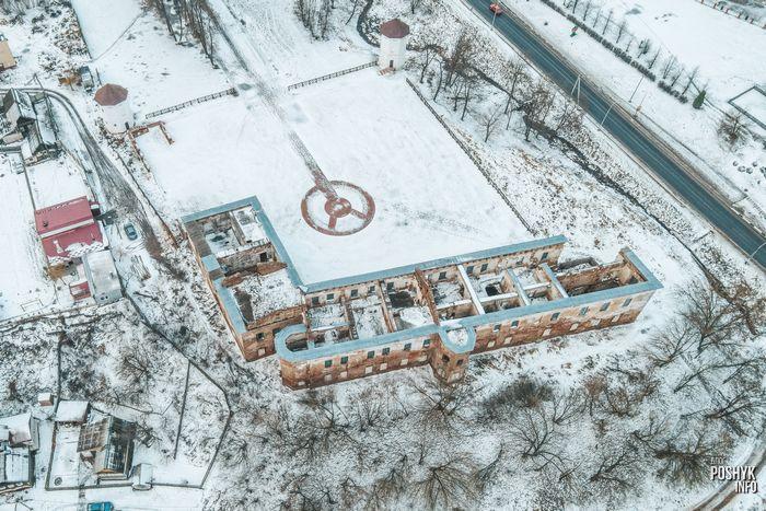 Фото с воздуха Быхов