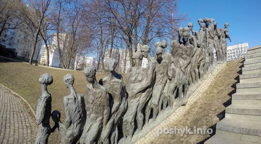 памятник евреям минск