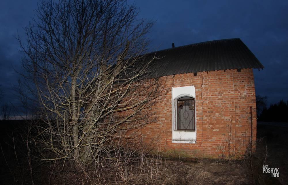 Заброшенный дом с привидениями