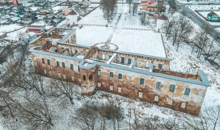 Замок в Быхове