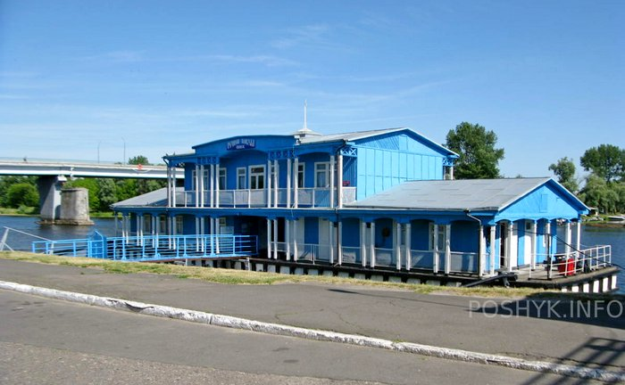 речной вокзал пинска