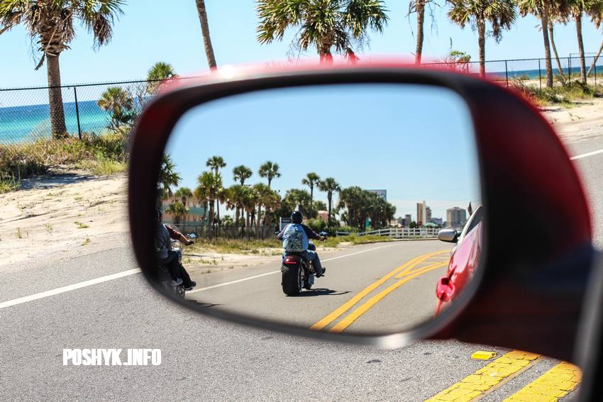 bikers panama beach