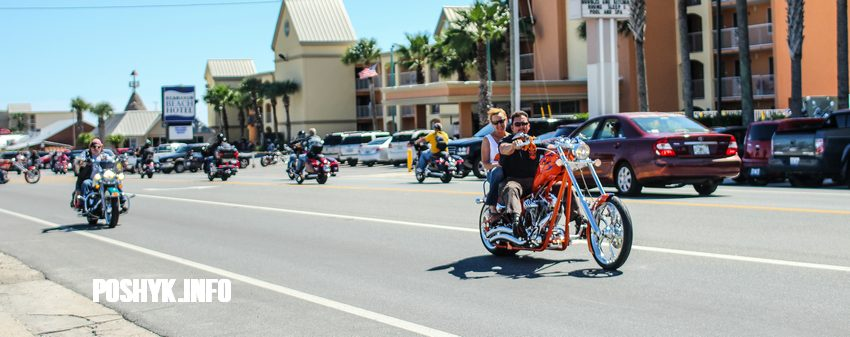 bikers panama beach