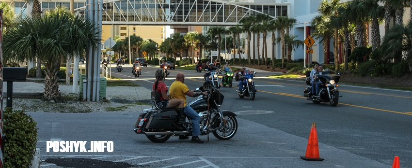 bikers panama city beach