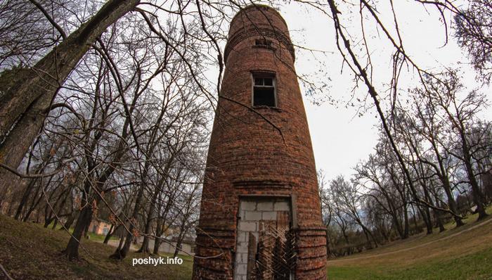 заброшенная башня на уборевича