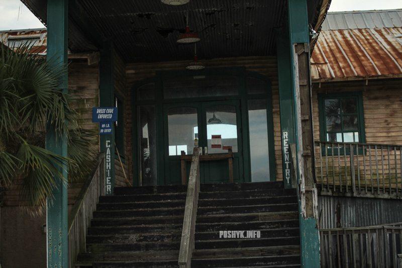 заброшенный ресторан фото