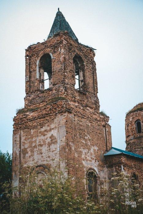Башня Колокольня в Смолянах