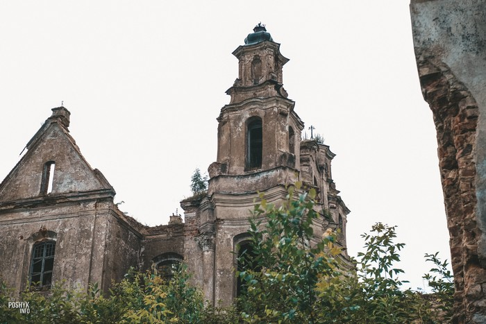 Костел в Смолянах