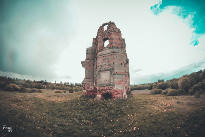 Руины замка Белый Ковель