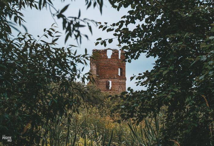 Руины замка в Смолянах