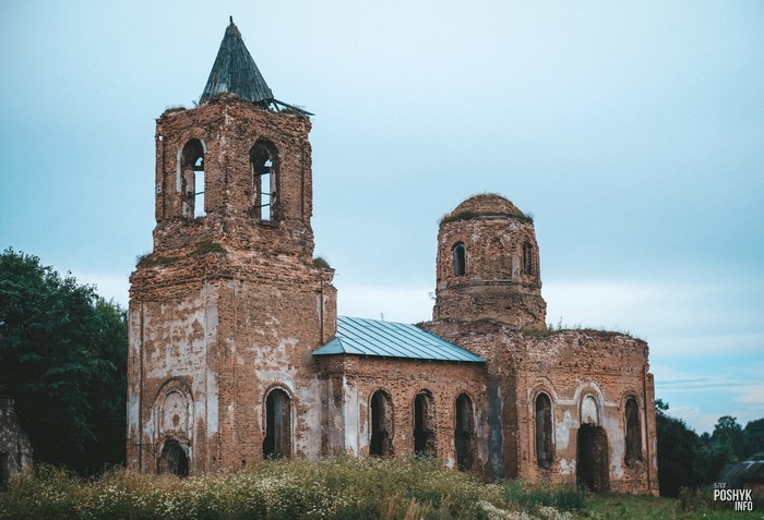 Смоляны церковь руины