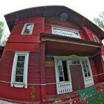 Заброшенный клуб в деревне Узла