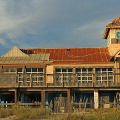 Panama City Beach часть 2. Заброшенные здания.