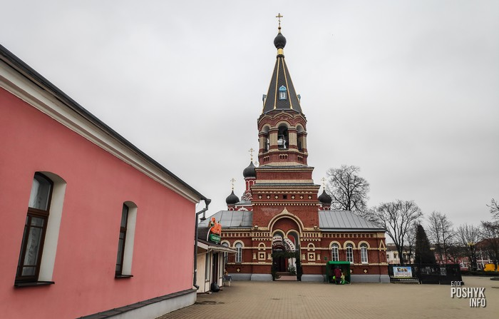 брама Воскресенский собор Борисов
