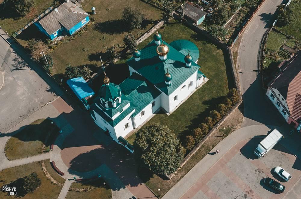 Церковь Троицкая в поселке Мир