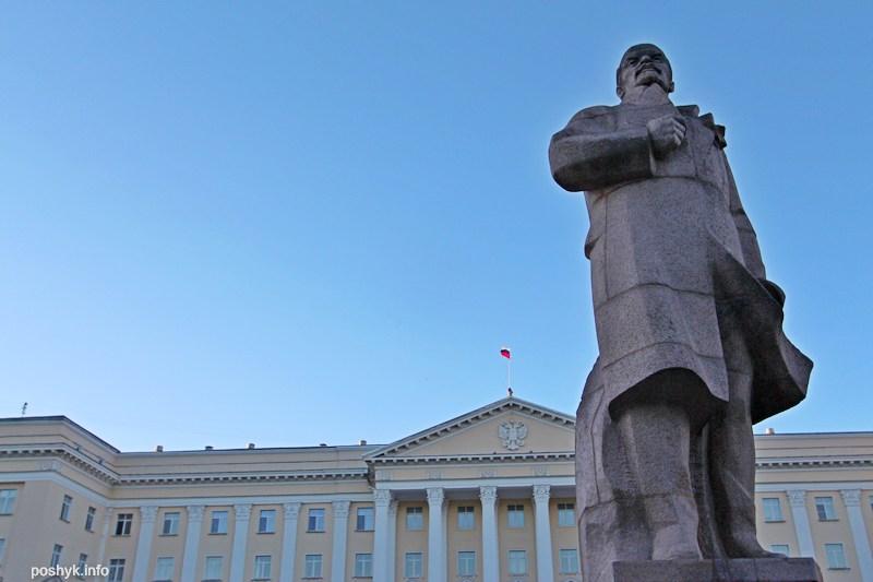 Памятник Ленину смоленск